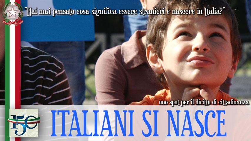 ITALIANI SI NASCE. Gli spot